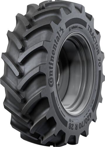 Opona 360/70R28 Tractor 70 125D/128A8 TL CONTINENTAL